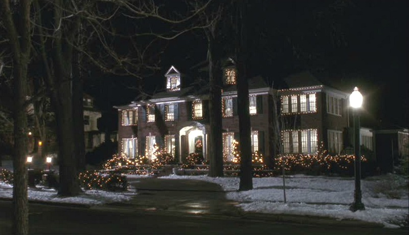 Home Alone House Lincoln Ave Winnetka Illinois