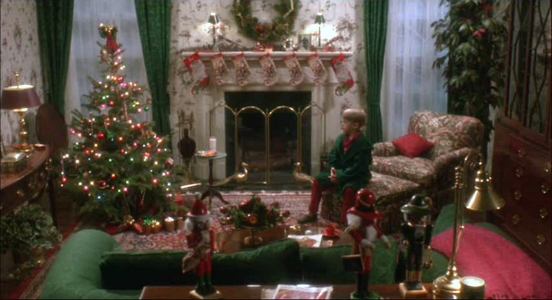 Kevin celebrates Christmas Home Alone