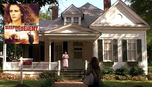 Sleeping with the Enemy Julia Roberts' white cottage