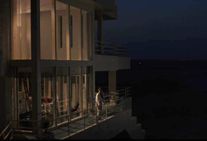Sleeping with the Enemy beach house at night
