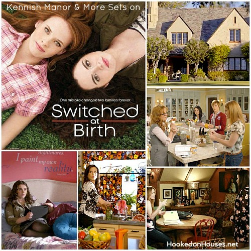 Switched at Birth Kennish Manor and Guest House sets collage