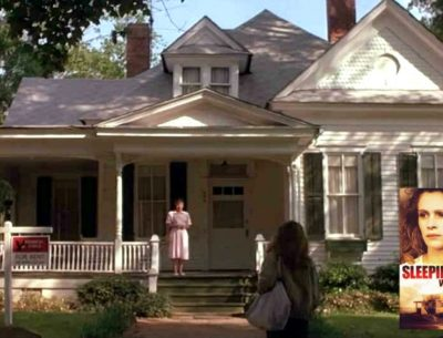 Victorian cottage with front porch in Sleeping with the Enemy movie