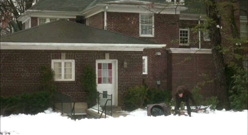 back of the Home Alone House