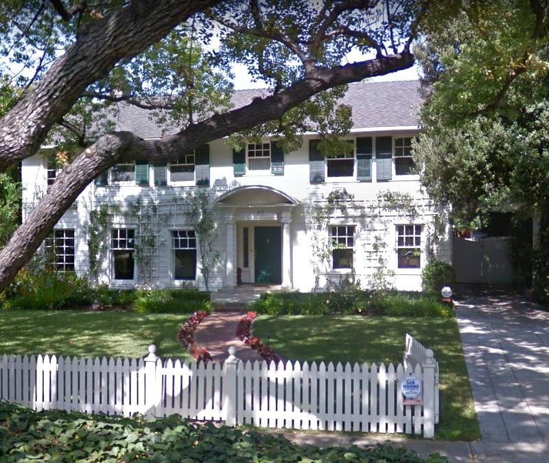 Father of the Bride House 843 S El Molino Pasadena