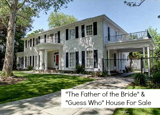 Father of the Bride and Guess Who Movie House For Sale