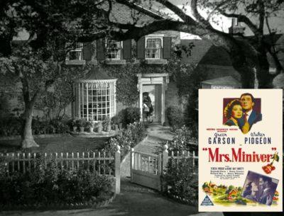 Mrs. Miniver's House in World War II England