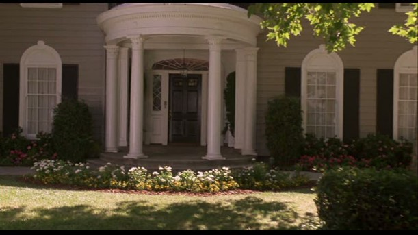 front door of Father of the Bride house