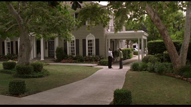 screenshot of house in Guess Who movie