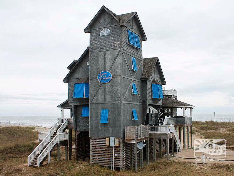 the Inn at Rodanthe in its new location