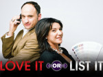 David Visentin and Hilary Farr in promotional photo for Love It or List It