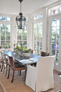 Patina Style-sunroom table and chairs