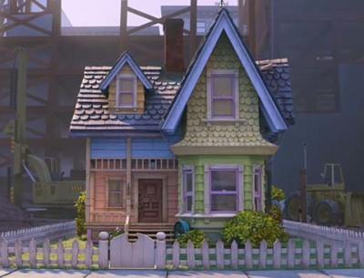 """Recreating Pixar's """"Up"""" movie house in Herriman, Utah"""