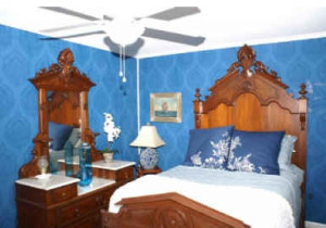 Serendipity today-Richard Gere's blue bedroom