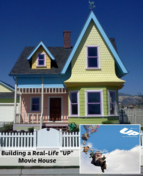 A Real Life UP Disney Movie House in Utah