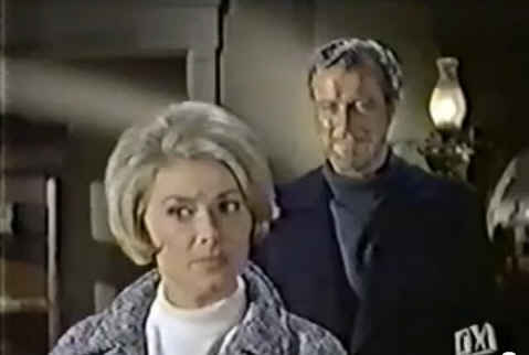 screenshot of Captain Gregg and Mrs. Muir from TV show