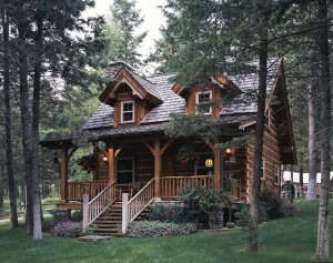 Jack Hanna's log cabin in Montana