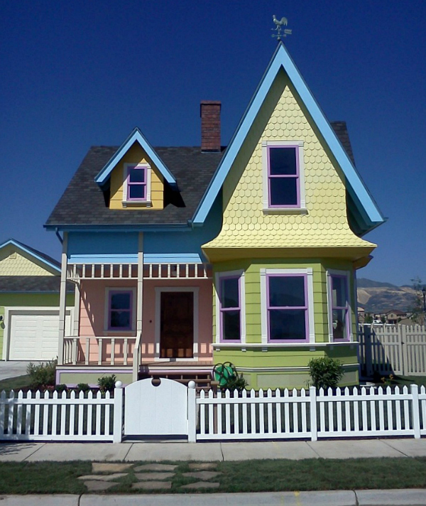 Real-Life UP Disney Movie House Utah Bangerter Homes