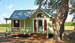 Texas Tiny Houses-Round Top green house