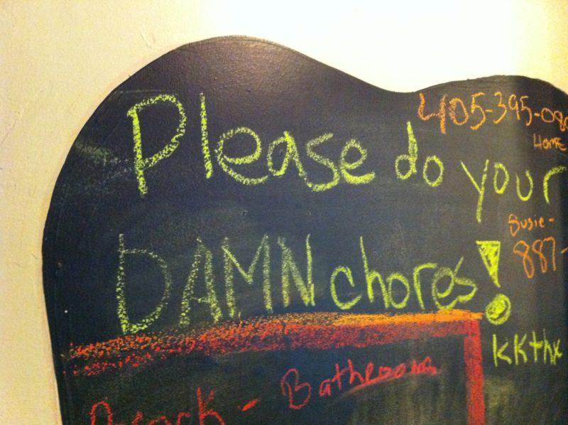 Chore Chart in MLS photo