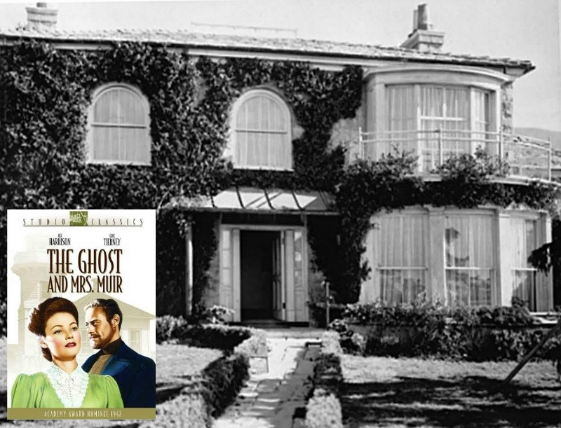 Ghost and Mrs. Muir movie Gull Cottage