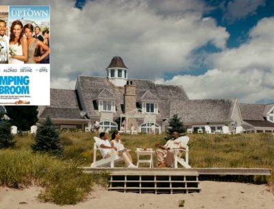 Jumping the Broom movie house in Nova Scotia