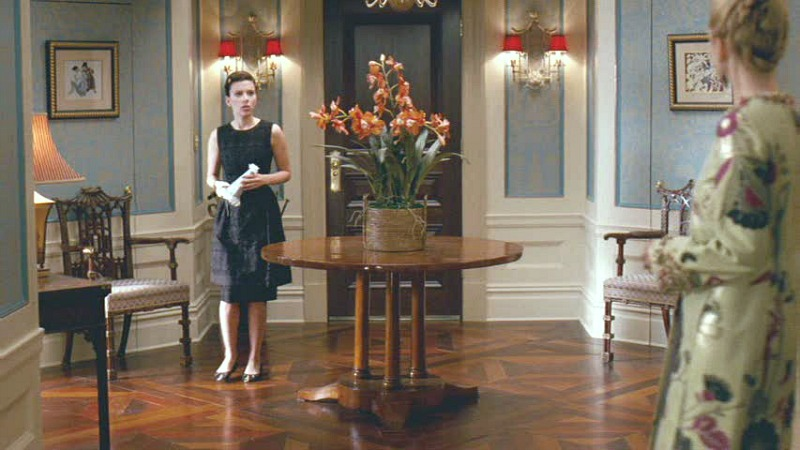 Nanny Diaries apartment entry hall