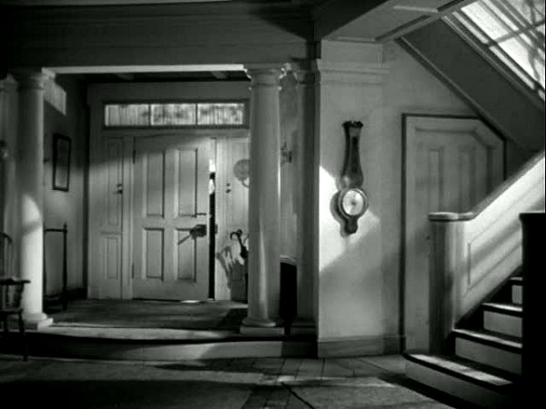 The Ghost and Mrs. Muir Gull Cottage front hall