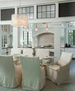 Victoria Grayson's dining table-Wrightsville Beach Mag