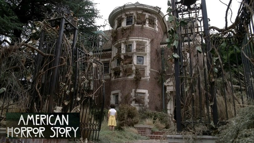 American Horror Story Murder House Rosenheim Mansion on TV