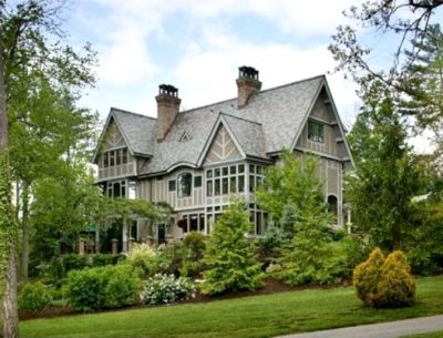 Andie MacDowell's House in Asheville NC