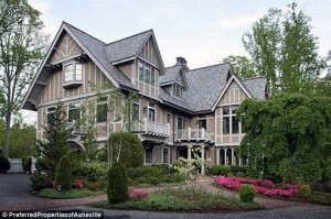 Andie MacDowell's North Carolina Tudor mansion for sale