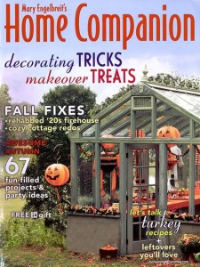 cover of Mary Engelbreit's Home Companion magazine October 2008