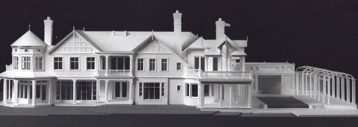 Model Of A House Designed By Peter Cook