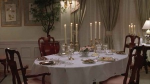 Mrs. Doubtfire dining room