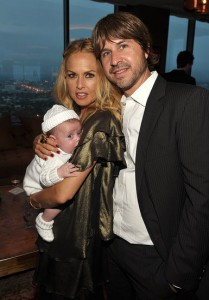 Rachel Zoe Rodger Berman and baby Skyler