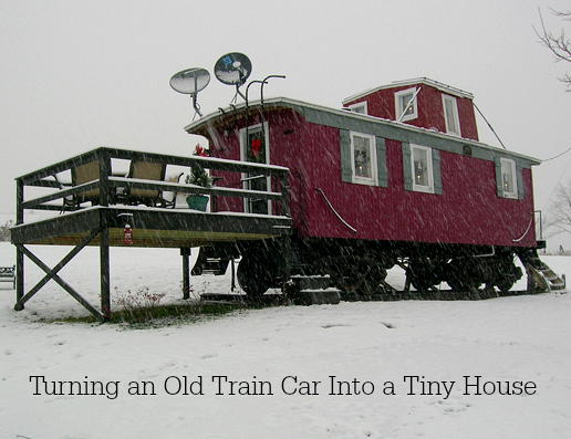 Turning an Old Traincar Into a Tiny House-Marcia