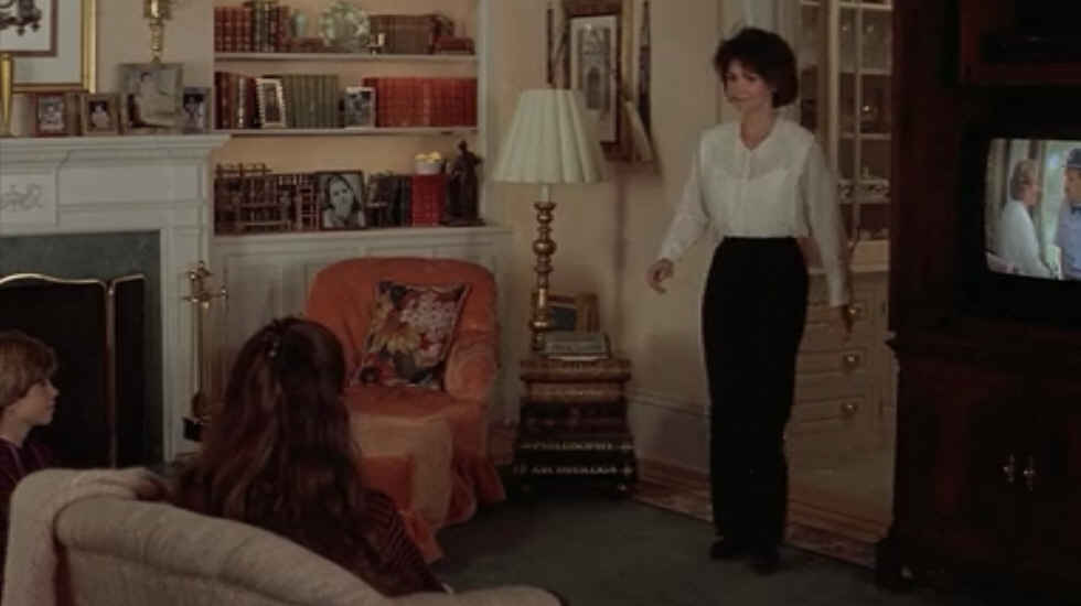 Sally Field walking into living room