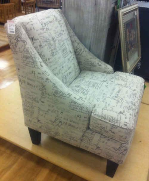 Victoria Grayson's Chair Revenge Lookalike Home Goods