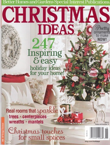 Beautiful Christmas Ideas Magazine 2011 Better Homes Gardens