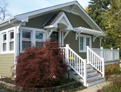 Craftsman-style cottage now