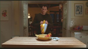 Mark Ruffalo-kitchen island