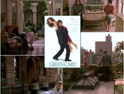 The sets from the movie Green Card