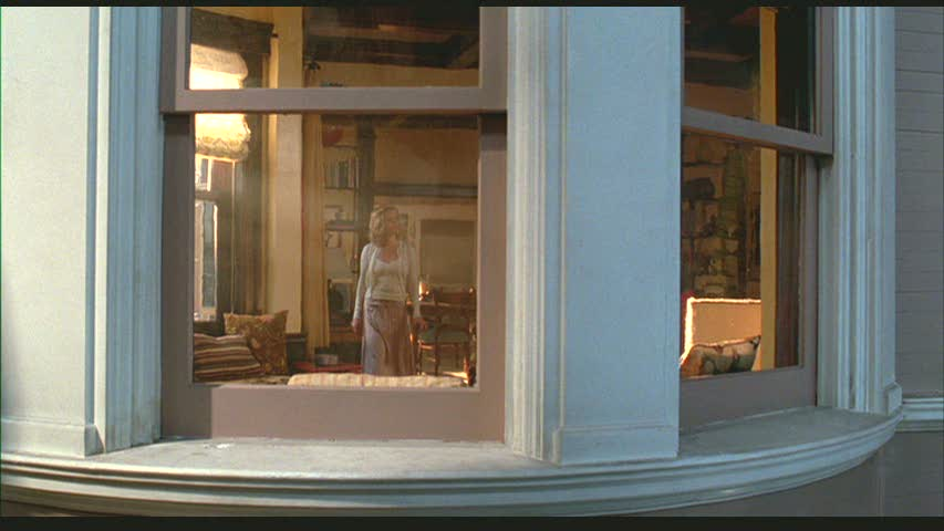 looking through window at Reese Witherspoon in Just Like Heaven