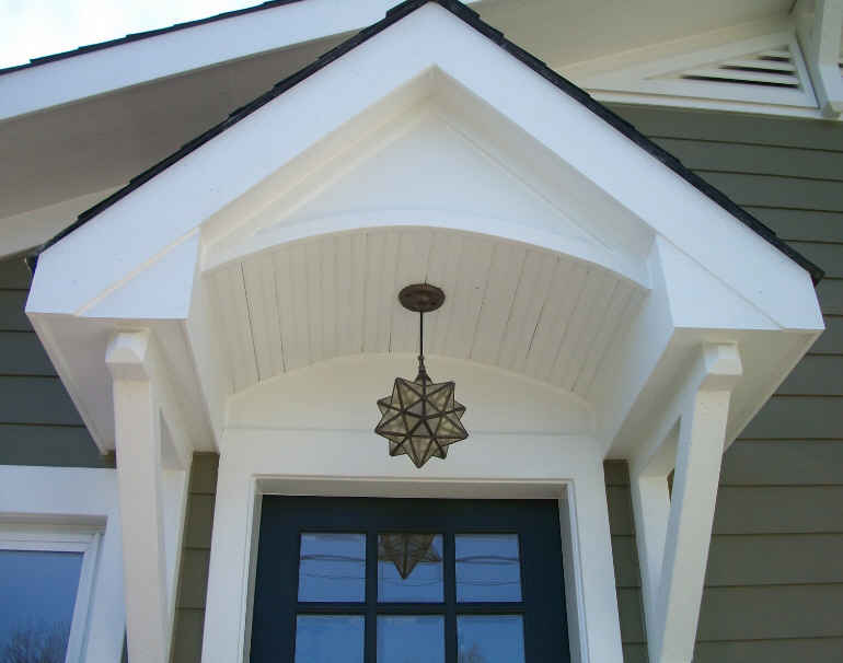 Overhang And Star Pendant Hooked On Houses