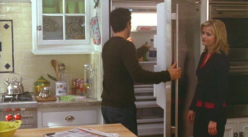 Mark Ruffalo opens refrigerator