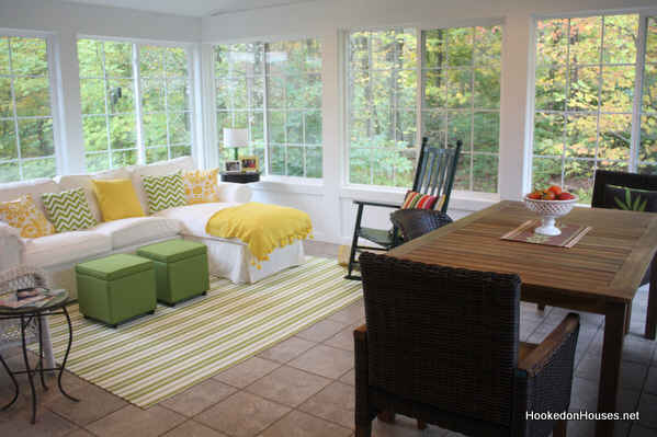 My Sunroom in the Fall