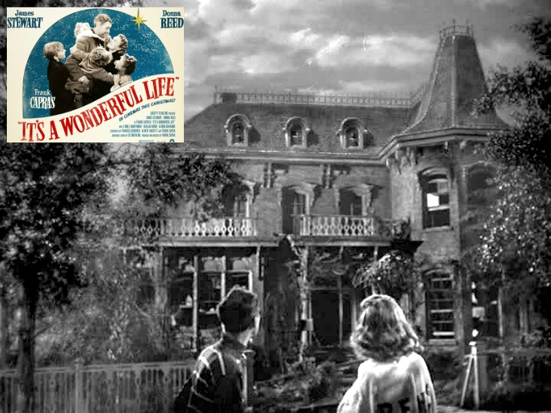 It's a Wonderful Life-Bailey house feat