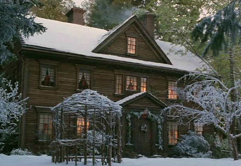 Little Women movie Orchard House sets
