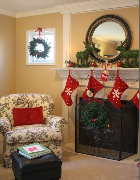 1800s Country Homes: Hooked On Holiday House Tours: A Show-Us-How-You-Decorate