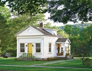 19th Century Schoolhouse in the Catskills Country Liv